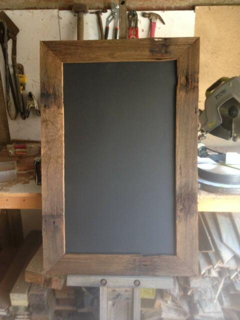 Blackboard Wedding Menu Board Rustic Upcycled Chalkboard Upcycled Other Home Decor Gumtree
