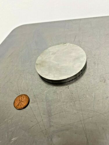 "6061-T651 Aluminum Plate Disc Shaped, 2-3/4"" Diameter x 1/4 in thick"