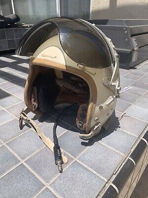 Korean War Style US Air Force USAF P-4 Pilot Flight Helmet