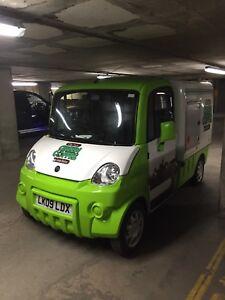 Mega 600E Mobile electric coffee van for sale