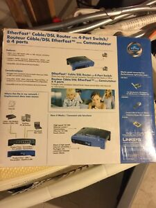 Brand new Linksys router $5.00