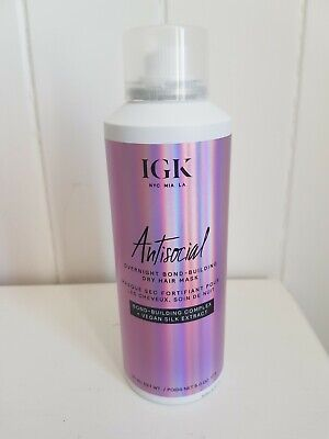 Brand New IGK Antisocial Overnight Dry Mask 187ml