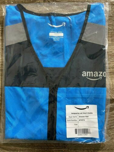 **BRAND NEW** Amazon DSP Flex Delivery Driver Safety Vest - Reflective Size M/L