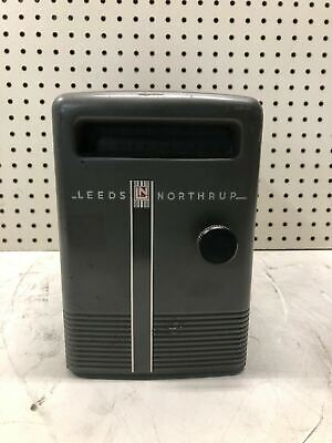 Vintage Leeds Northrup 2430 Reflecting Galvanometer Type E Light Beam Cool
