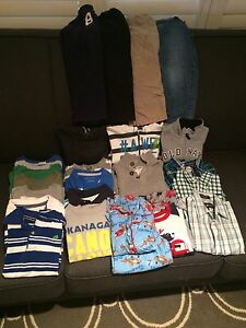 Lot of boys 4 and 4t clothing