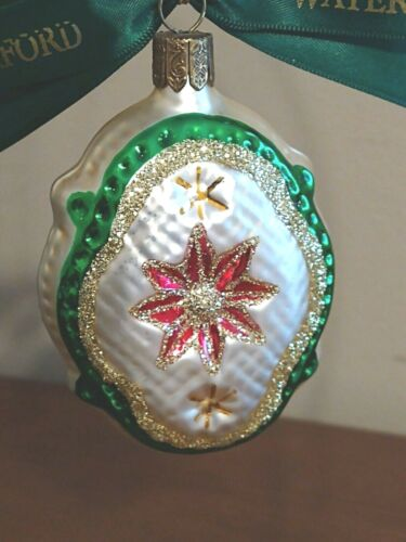 """WATERFORD Holiday Heirlooms Nostalgic Collection Limited Edition """"Holiday Medall"""