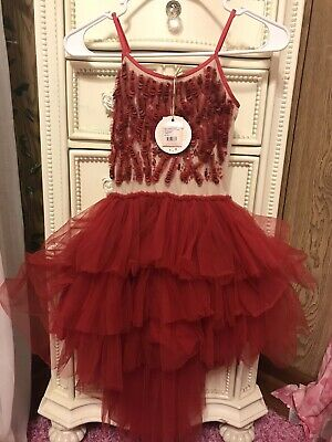 Tutu Du Monde Scarlet Superstition Tutu Dress Size 10-11 NWT
