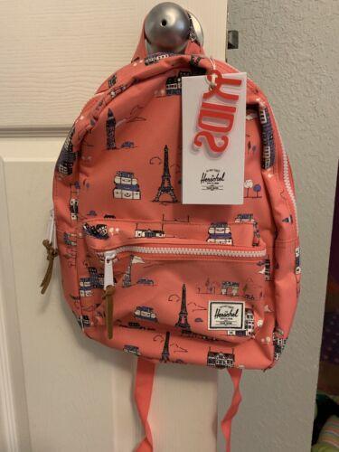 herschel settlement Kids backpack Paris Pink
