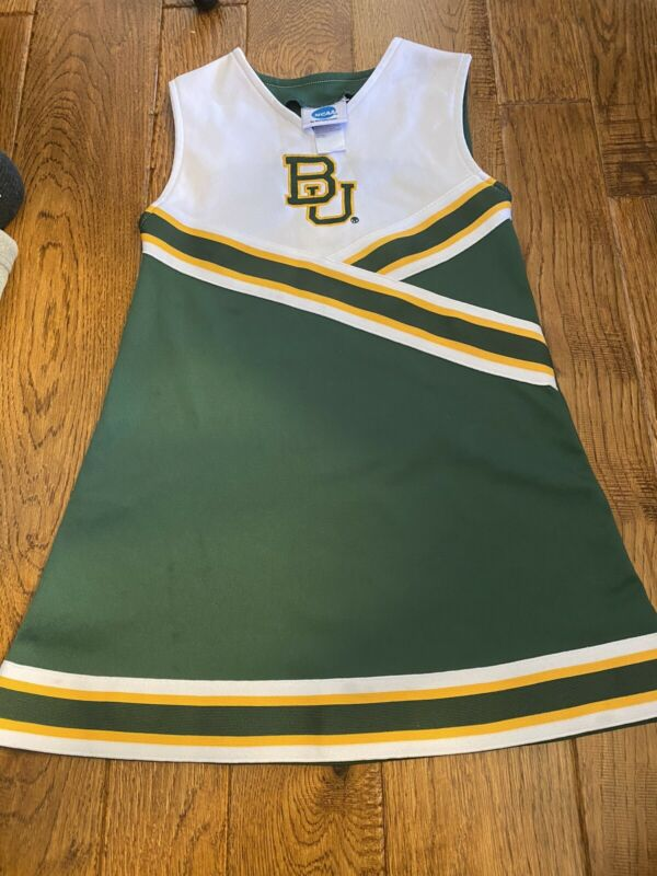Official Baylor Bears Cheerleader Dress Skirt Size 6/6X NCAA Outfit