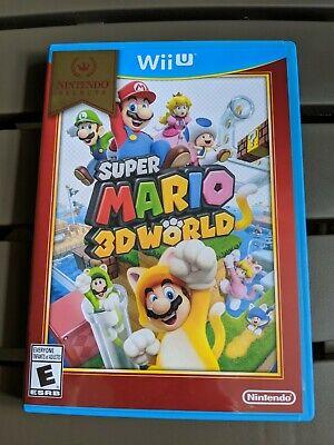 Nintendo Wii U Super Mario 3D World Video Game Selects 2016