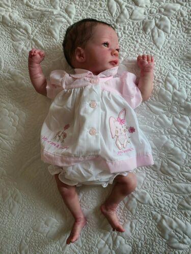 Reborn doll Ashley awake by Bountiful Baby
