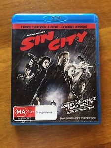 Sin City on Bluray Chidlow Mundaring Area Preview