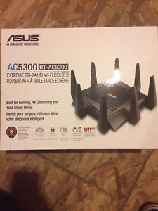 ASUS AC5300 Router + ASUS Wireless Adapter