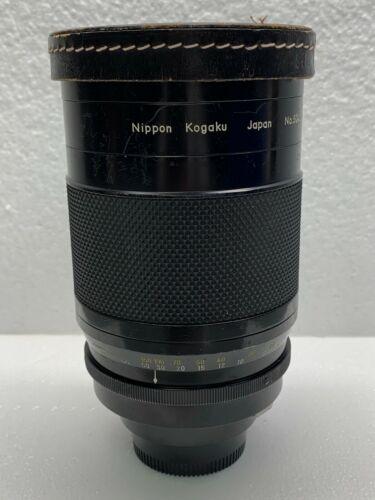 Reflex Nikkor 1:8  f=500m Camera Lens 504137