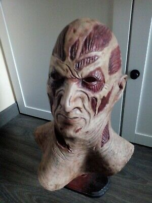 Freddy krueger latex platinum mask new - Kids Freddy Krueger Mask