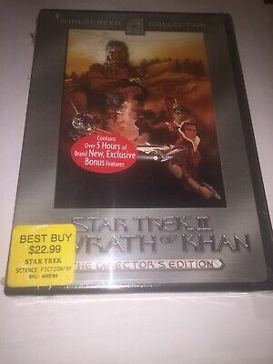 Star Trek II: The Wrath of Khan (DVD, 2002, 2-Disc Set, Directors