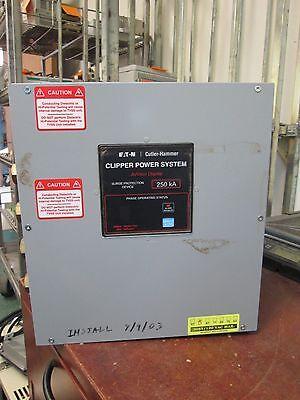 Cutler-hammer Clipper Power System Cps250208yah 208y120v 5060hz 3ph 4w Used