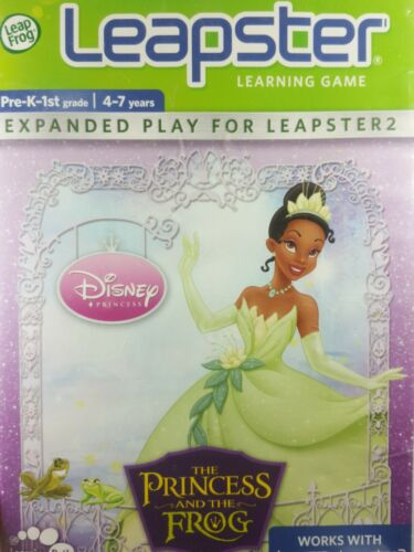 The Princess And The Frog Leapster Leapster 2 Learning Games LeapFrog - $6.63