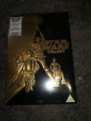 Star Wars Trilogy Dvd Brand New