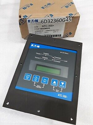 Atc-300 Cutler Hammer Automatic Transfer Switch Controller 6d32360g42 New