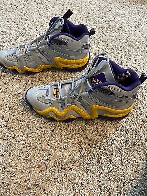Adidas Crazy 8's Lakers Size 12