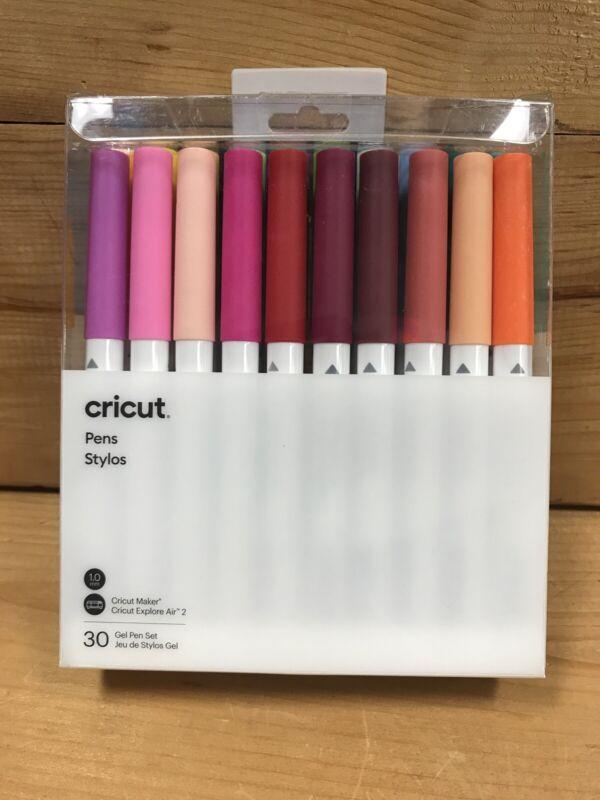 Cricut Maker, Gel Pen Set, 30 Pack, Explore Air 2
