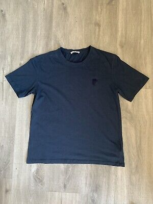 Mens Blue Versace Top Size Large