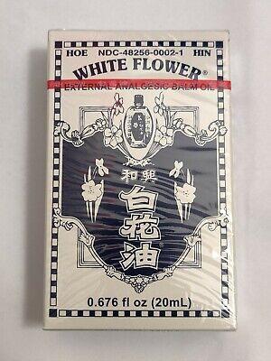 White Flower External Analgesic Balm Oil 20Ml 0.676 Fl Oz US Version