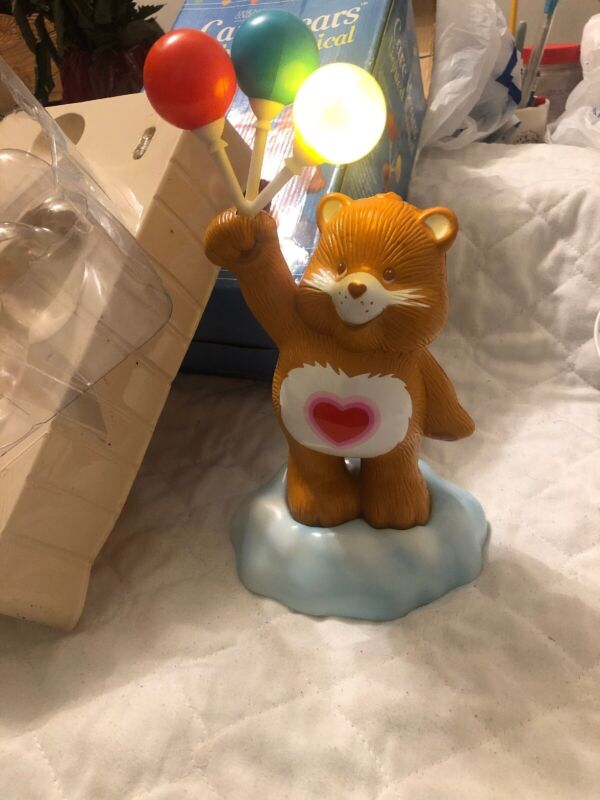 american greetings care bears lighted musical tenderheart bear Rare Large
