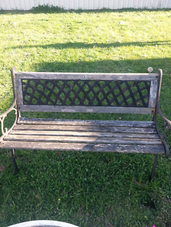 Outdoor Garden bench good condition