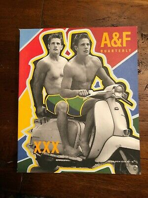 Abercrombie & Fitch Quarterly 2001 Spring Break Catalog - Bruce Weber