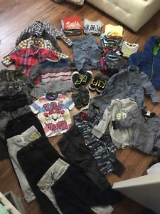 Boy clothing 2-5 years old