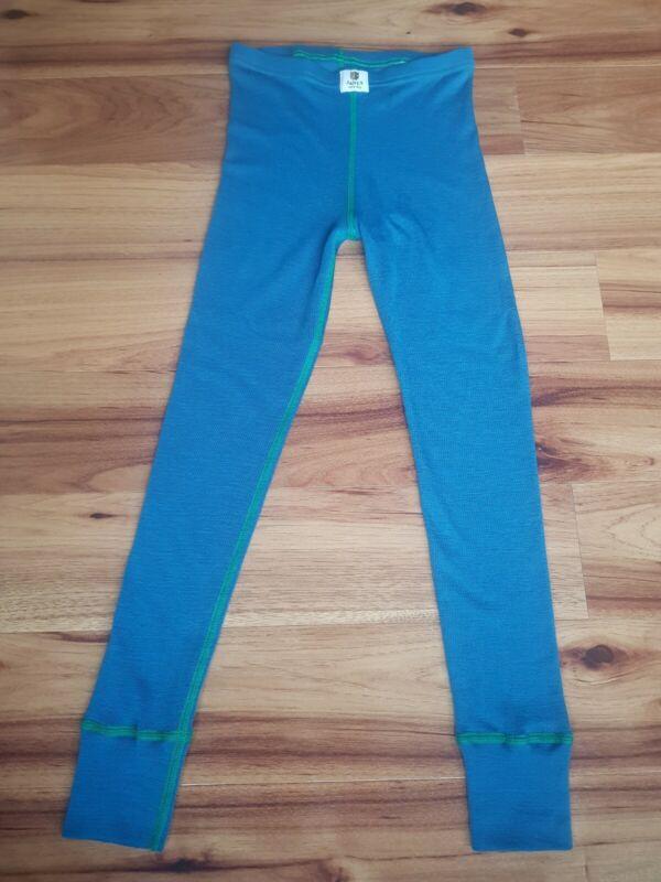 Janus Thermal 100% Merino Wool Baselayer Leggings size 7-8 Years