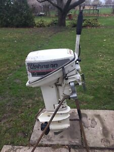 9.9HP Johnson Outboard  ( 1988)