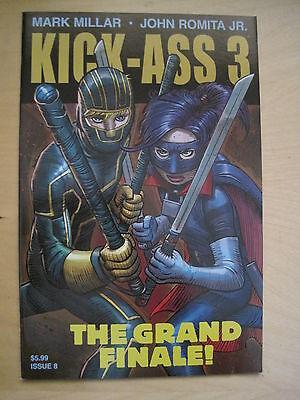 KICK - ASS 3 # 8  LAST EVER,G/S ISSUE by MARK MILLAR & JOHN ROMITA JR. ICON.2013