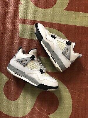 2016 Air Jordan 4 White Cement 4y Youth Kids
