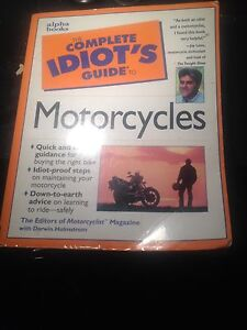 Motorcycle guide for idiots