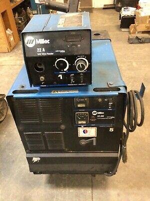 Miller Cp-302 W22a Wire Feeder Mig Welder Refurbished