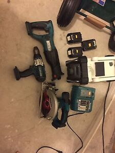 Makita power tool set