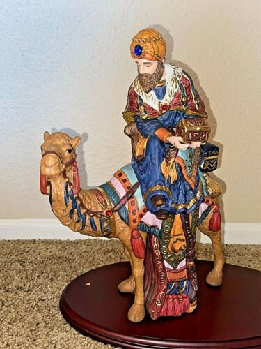 Kirkland  Nativity 75177 Red Box ~ Replacement Figurine ~ Wiseman on Camel