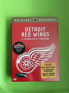 Detroit Red Wings: A Celebration of Champions [4 Disc Set] DVD