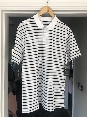 Men's Nike Fit-Dry Golf Polo Shirt Size Large.
