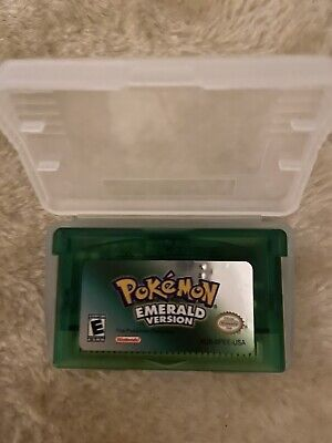 FREE SHIPPING - Pokemon Emerald - GBA USA Seller Read Description