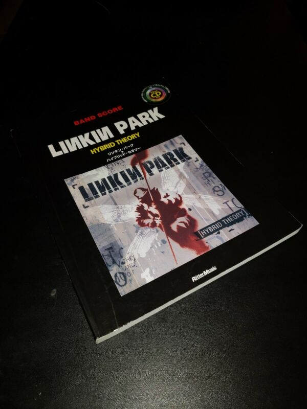 Linkin Park Hybrid Theory Japan Band Score Song Book w CD Guitar TAB Chester