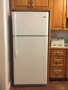 Electric Stove and Fridge