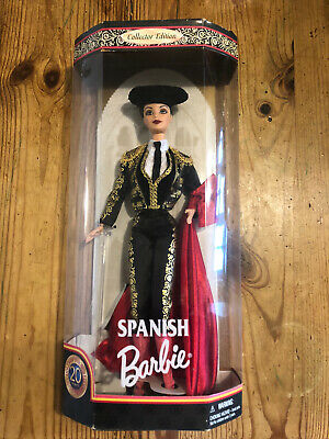 Barbie Spanish Dolls of The World Collector Edition 20 Years Anniversary 1999