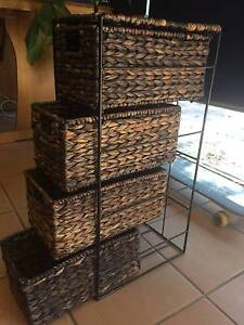 natural fibre small drawers Mount Hawthorn Vincent Area Preview