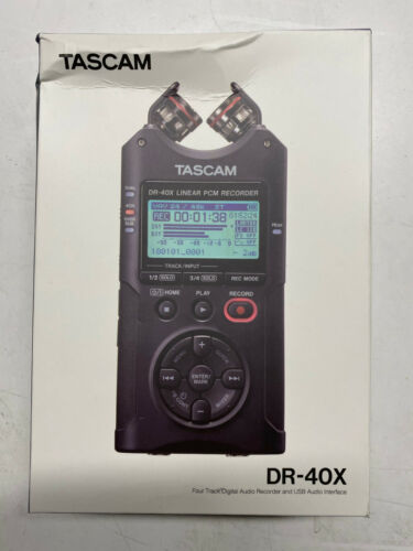TASCAM DR-40X 4-channel Handheld Recorder