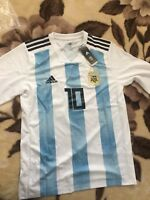 ADIDAS LIONEL MESSI ARGENTINA LONG SLEEVE WORLD CUP 2018