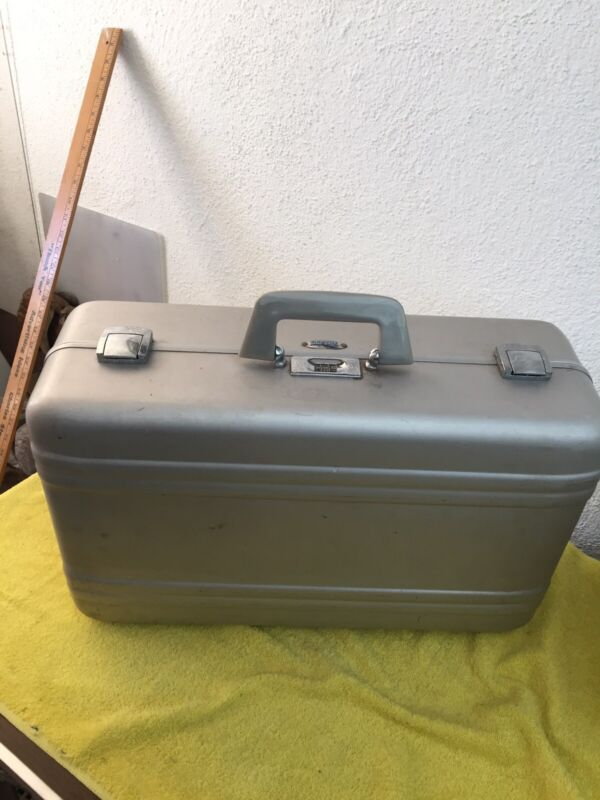 Vintage Zero Halliburton Gun Camera Storage Case